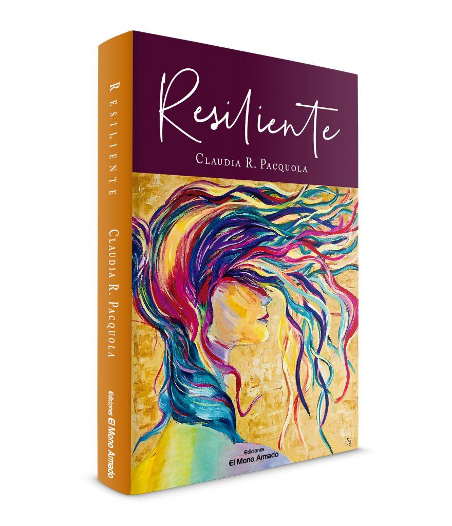 "Tapa del libro ""Resiliente"""